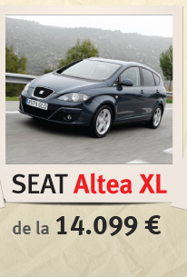 SEAT Altea de la 14.099 euro