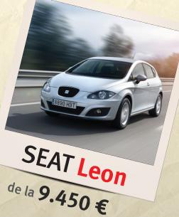 SEAT Leon de la 9.450 euro