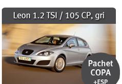 Leon 1.2 TSI / 105 CP, gri - Pachet COPA + ESP