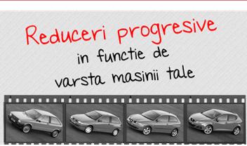 Reduceri progresive in functie de varsta masinii tale