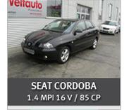 SEAT CORDOBA 1.4 MPI 16 V / 85 CP