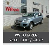 VW TOUAREG V6 GP 3.0 TDI / 225 CP