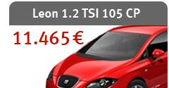 Leon 1.2 TSI 105 CP - 11.465 €