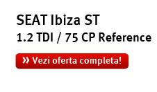 SEAT Ibiza ST 1.2 TDI / 75 CP Reference! Vezi oferta completa!