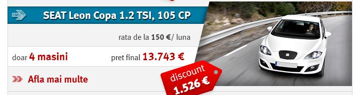 SEAT Leon Copa 1.2 TSI, 105 CP
