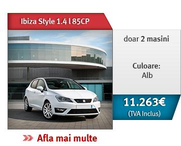 Ibiza Style 1.4 l 85CP! Doar 2 masini, culoare alb,11.263 € (TVA inclus)