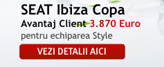SEAT Ibiza Copa - VEZI DETALII AICI