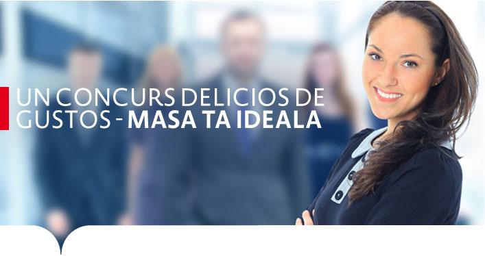 UNCONCURS DELICIOS DE GUSTOS - MASA TA IDEALA
